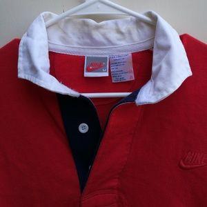 Vintage 90s Nike tennis Polo short sleeve